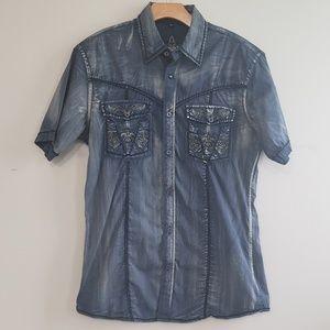 Roar Shirts - Roar Brand Button Up Shirt Size Medium